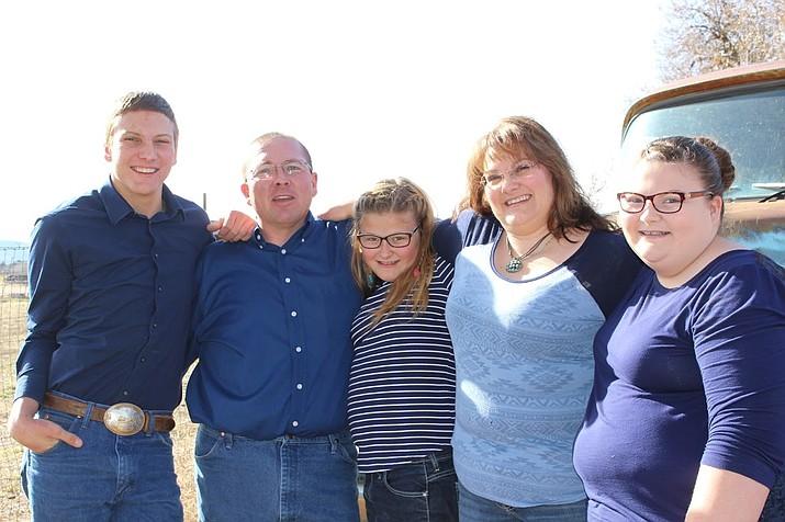Jeramy Plumb with family. (Courtesy)