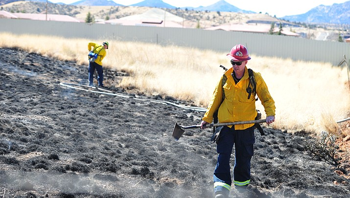 Wildland fires cause scare in both Chino Valley, Prescott
