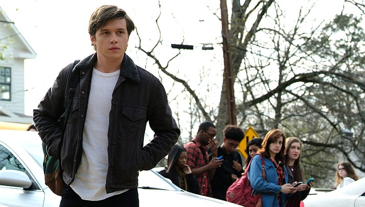 Love, Simon keeps the audience interested in the subject of gay relationship because Simon is an endearing character, played by Nick Robinson.
