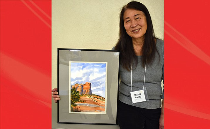 Nicole Barry is the EL Valle Artists Association Artist of the Month.