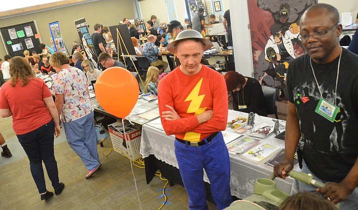 The annual Verde Valley Comic Book Expo pop culture event will take place inside the Cottonwood Recreation Center gymnasium. VVN file photo