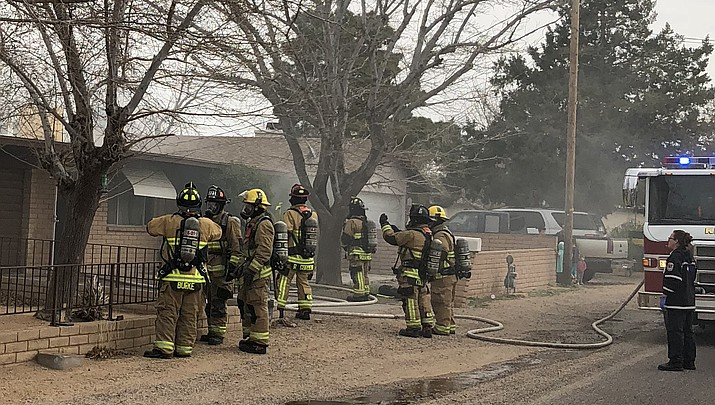KFD puts out house fire on Lucille Avenue