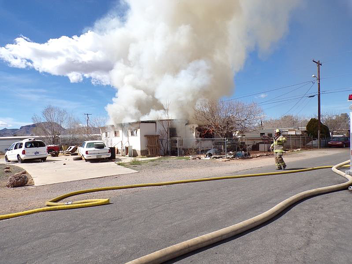 Three engine companies got this single-wide mobile home fire in the 3600 block of Neal Avenue under control Sunday.