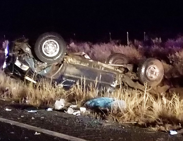 A head on collision on State Route 64 March 10 claimed the lives of two people and four more were transported to Flagstaff Medical Center with injuries. (Submitted photos)
