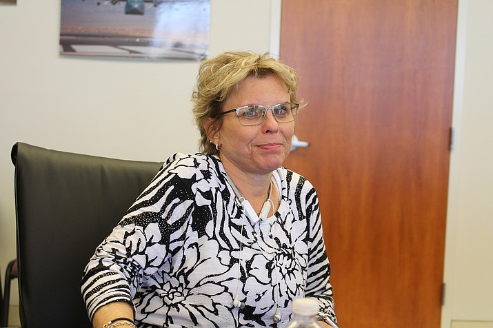 Supervisor Hildy Angius took part in conferences in Washington, where she said she has made friends for Mohave County.