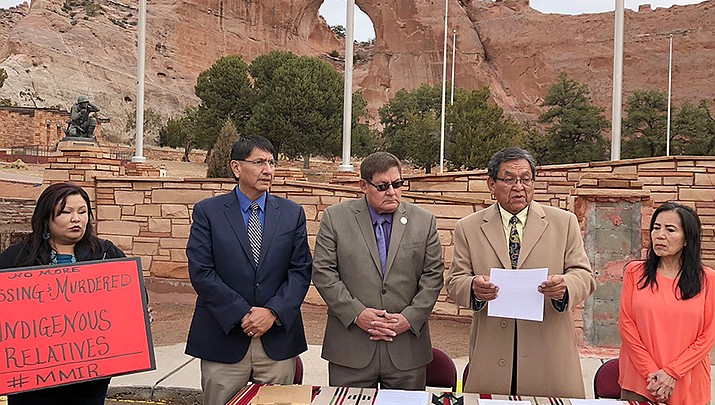 March declared Missing Persons month by Navajo branch chiefs