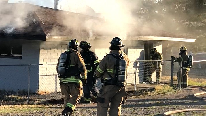 Smoking in bed causes house fire in Camp Verde