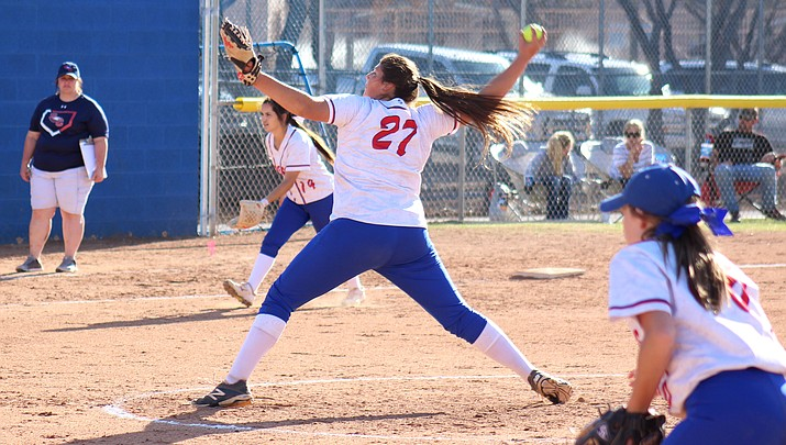 Camp Verde athlete of the week: Finley pitches perfect game, Ks 11