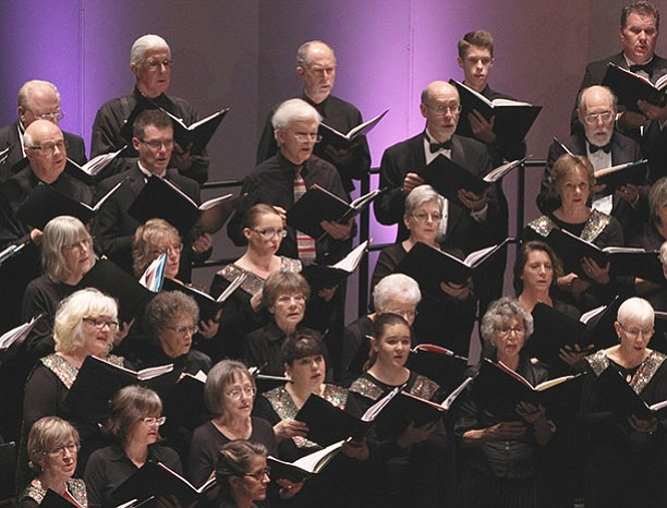 The Yavapai College Master Chorale is set to perform works by Vivaldi at its concert Sunday, March 24, at the Yavapai College Performing Arts Center. (Lorrie Vodika/Courtesy)