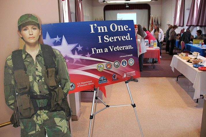 The Northern Arizona VA Health Care System hosted an event on Tuesday, March 20, to recognize female veterans and discuss their healthcare needs moving forward.