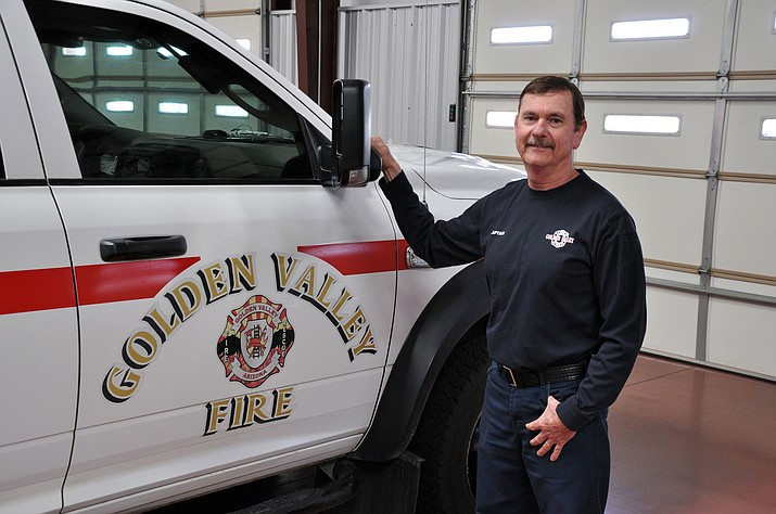 Dave Cunningham has been named interim fire chief in Golden Valley.