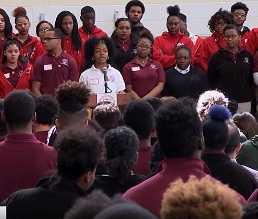 Survivors from the Parkland, Florida school shooting visit Washington, D.C.