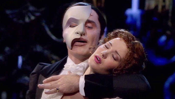 "Andrew Lloyd Webber's most celebrated musical, ""The Phantom of the Opera"", from the Royal Albert Hall in London, returns to the Mary D. Fisher Theatre on Sunday, April 1 in celebration of the theatre's 6-year anniversary."