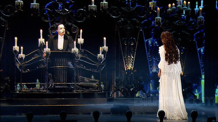 "Andrew Lloyd Webber's most celebrated musical, ""The Phantom of the Opera"", from the Royal Albert Hall in London, returns to the Mary D. Fisher Theatre on Sunday, April 1, in celebration of the theatre's six-year anniversary. (BlueRay.com/Courtesy)"