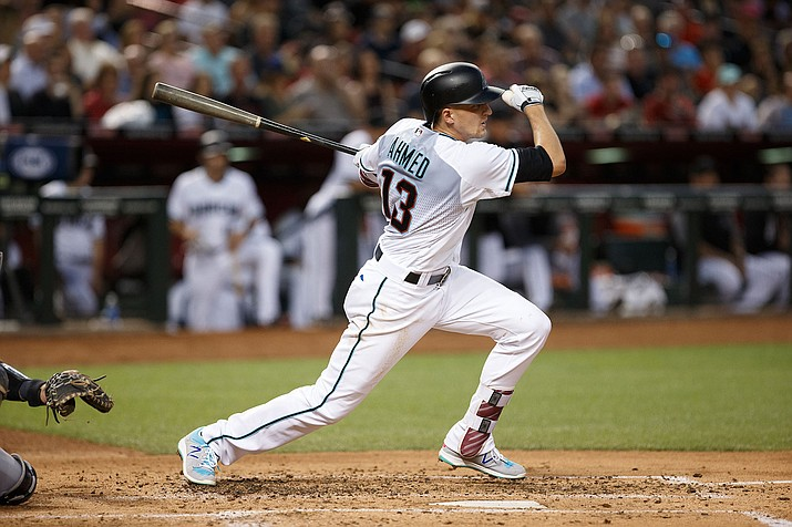 Nick Ahmed's career night helped lead the D-backs to a win over the Colorado Rockies Friday night at Chase Field.