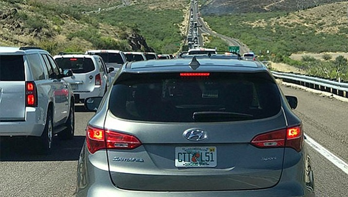 With the Legislature continuing to dip into Highway User Revenue Funds (HURF), which are meant to fix and build local and county roads, the solution to fix Interstate 17 traffic backup issues is not an increase in the gasoline tax. (Courier file photo)