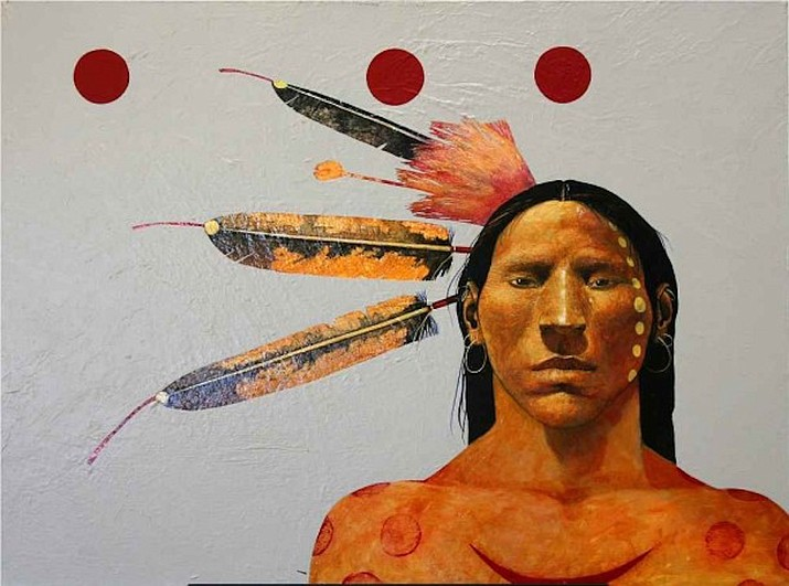 Red Room, Lakota by Ben Wright