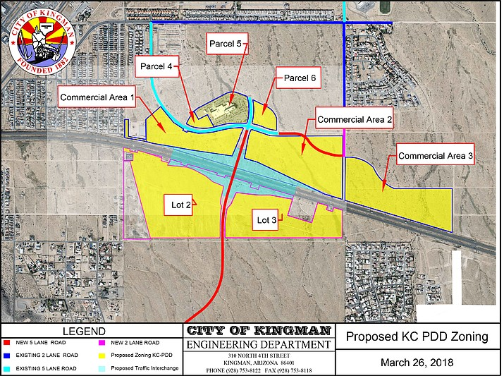A motion authorizing City Attorney Carl Cooper and Interim City Manager Jim Bacon to enter into discussions with KRMC regarding Kingman Crossing will go before Council at today's meeting.