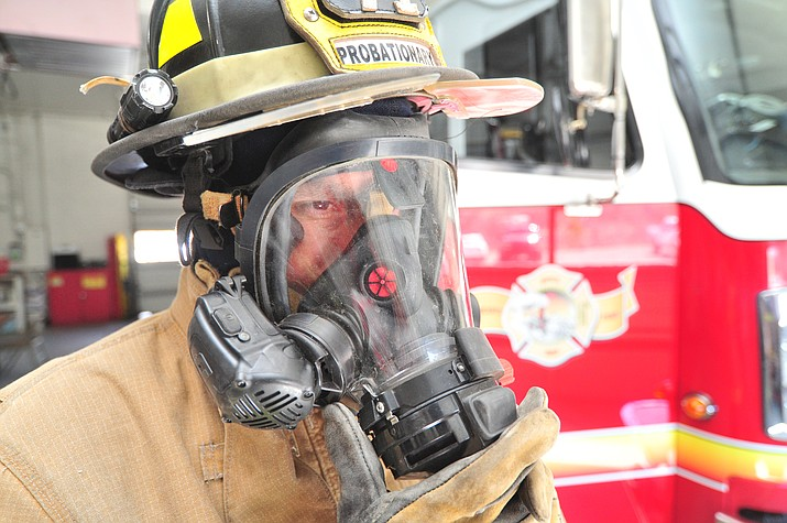 For nearly three months last year, 25 Prescott firefighters voluntarily subjected themselves to wearing Holter monitors for 12 to 24-hour periods purely in the name of research. (Les Stukenberg/Courier)