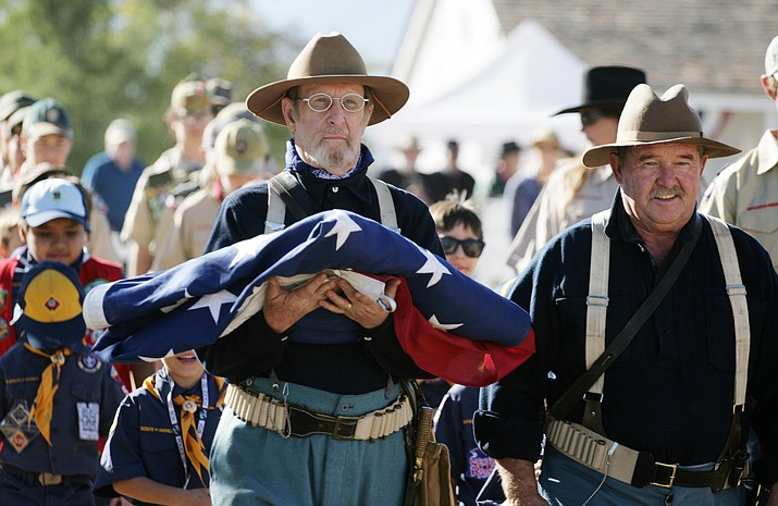 Through living history interpretation Fort Verde will honor the commitment, dedication and sacrifice of the military men and women from the Armed Forces throughout the country's history.