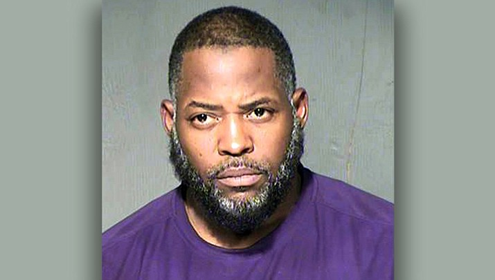 Abdul Malik Abdul Kareem, convicted of helping to plot a 2015 attack on a Prophet Muhammad cartoon contest in Texas, contends in his appeal that prosecutors withheld the fact that an undercover agent was at the scene just before the two attackers opened fire. Prosecutors now say a judge was correct in denying Kareem's request for a new trial based on complaints of withheld evidence. (Maricopa County Sheriff's Department)