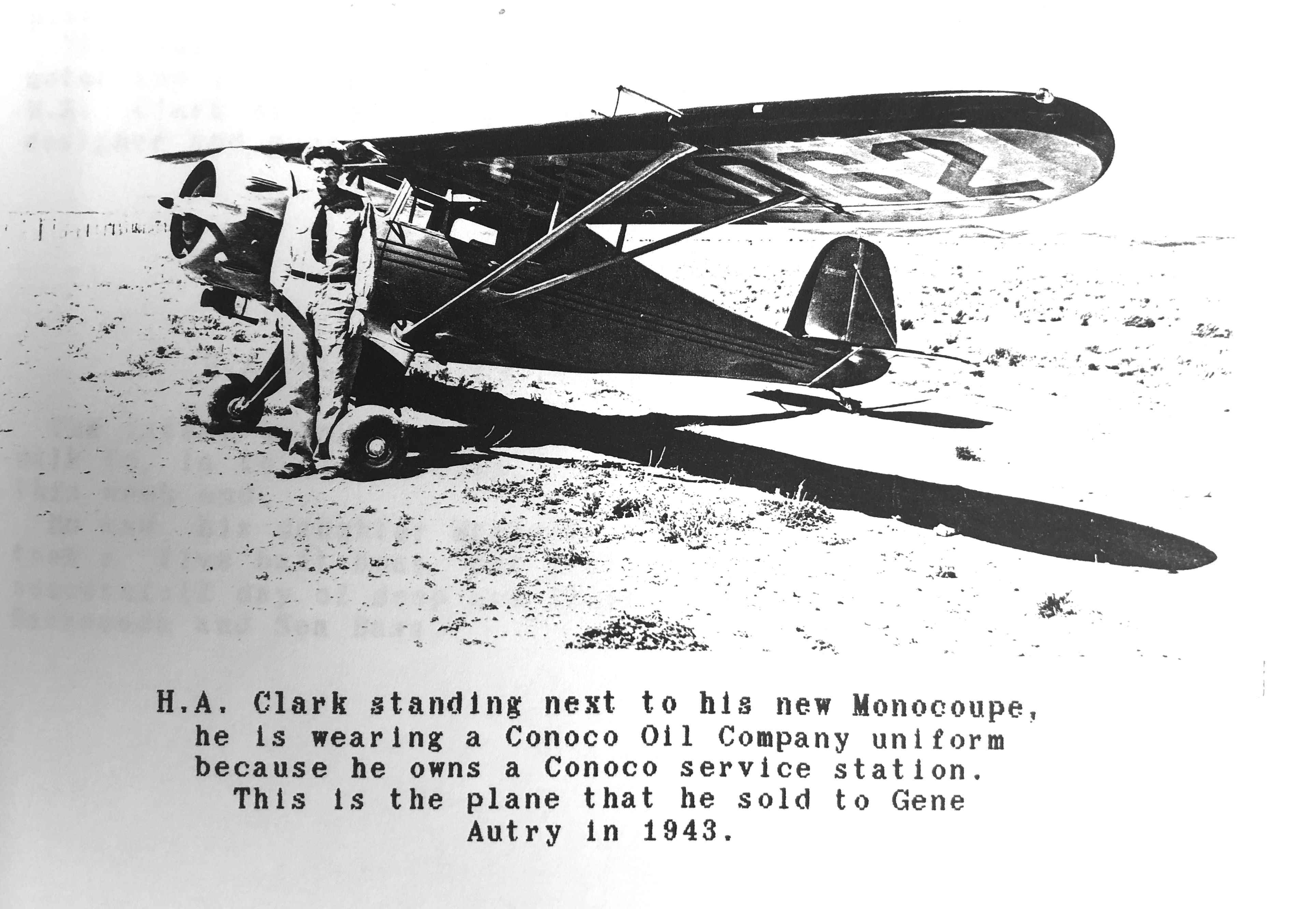 Williams aviation history part V: The significance of H.A. Clark to ...