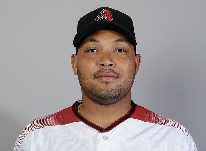 This is a 2018 photo of left fielder Yasmany Tomas of the Arizona Diamondbacks baseball team. Tomas cleared waivers and was assigned outright to Triple-A Reno by the Diamondbacks, who are responsible for the $42.5 million he is owed in the remaining three seasons of a $68 million, six-year contract. (Carlos Osorio/AP, File)