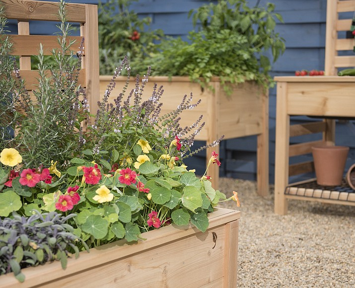Raised Beds And Multipurpose Potting Benches Can Add Both Beauty And  Functionality To Your Patio Or