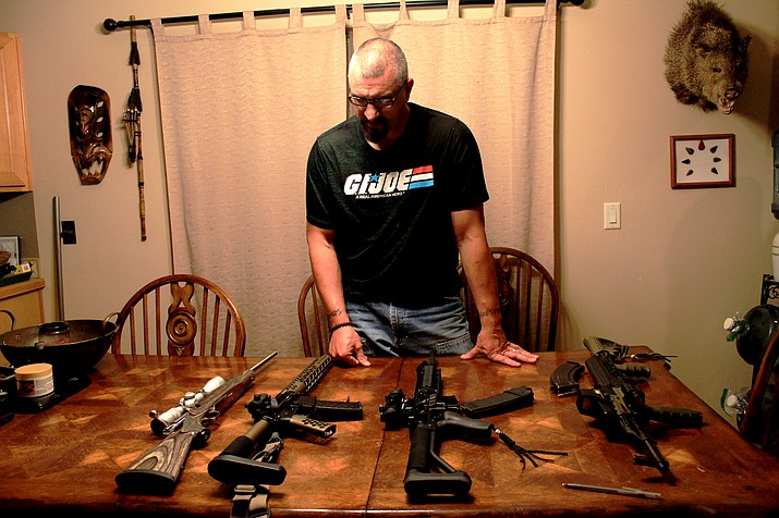 For Rob Wager, guns are very much a part of his livelihood which is why he takes great offense when he feels his right to bear arms is threatened.