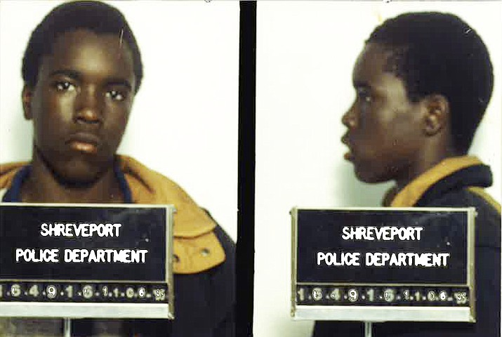 These undated arrest photos made available by the Shreveport Police Department show Corey Williams under arrest. Defense attorneys are urging the nation's highest court to throw out a case in which they claim Louisiana prosecutors withheld evidence that an intellectually disabled 16-year-old boy falsely confessed to killing a pizza deliveryman in 1998. (Shreveport Police Dept. via AP)