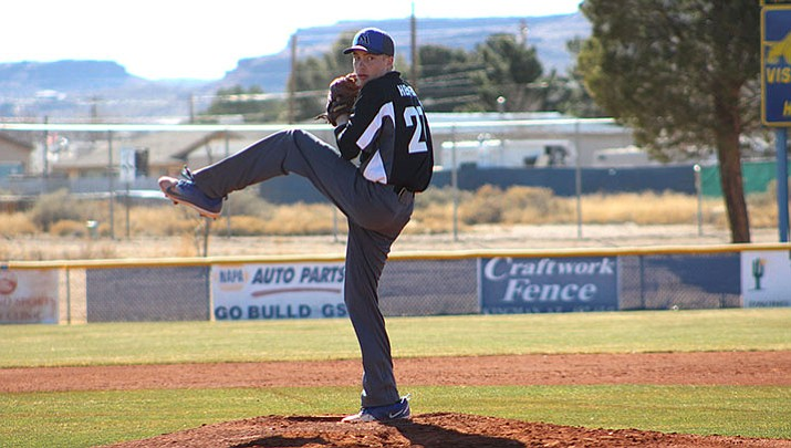 Bradley Hecker picked up the win for the Academy Saturday against Kingman High.