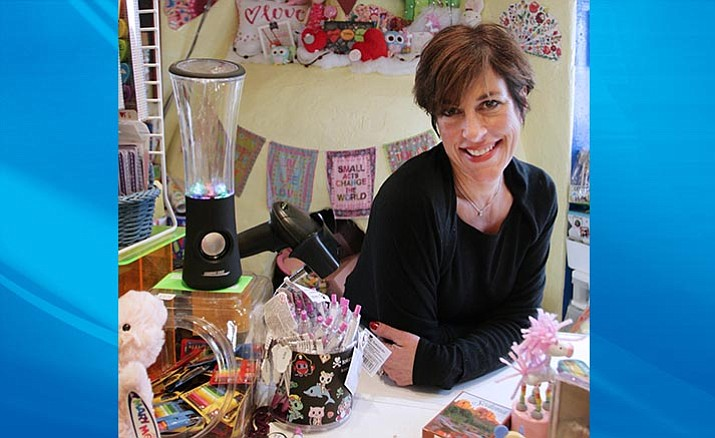"Owner and general manager of Tlaquepaque Arts and Crafts Village, Wendy Lippman is also owner of the site's Tlaquepaque Toy Town, which she says ""allows me to use some of my creativity."" VVN/Bill Helm"