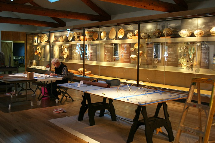 The renovated gallery showcases work from 10 tribes from across Colorado Plateau at Museum of Northern Arizona's new exhibit Native Peoples of the Colorado Plateau. (Museum of Northern Arizona)