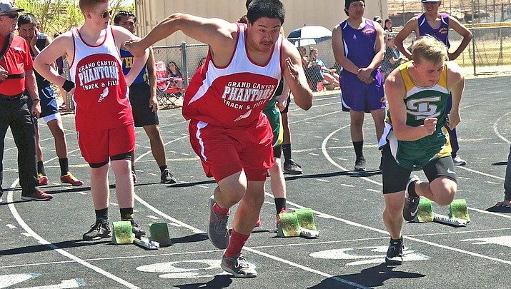Photo highlights: Phantoms track and  field competes at Joseph City March 30