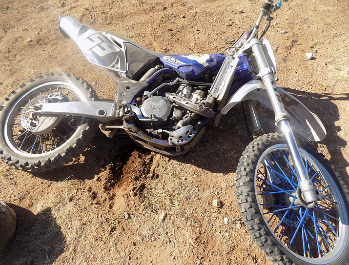 Curtis Renner, 53, was riding a dirt bike when he jumped his dirt bike, crashed, and was killed due to injuries sustained in the crash.