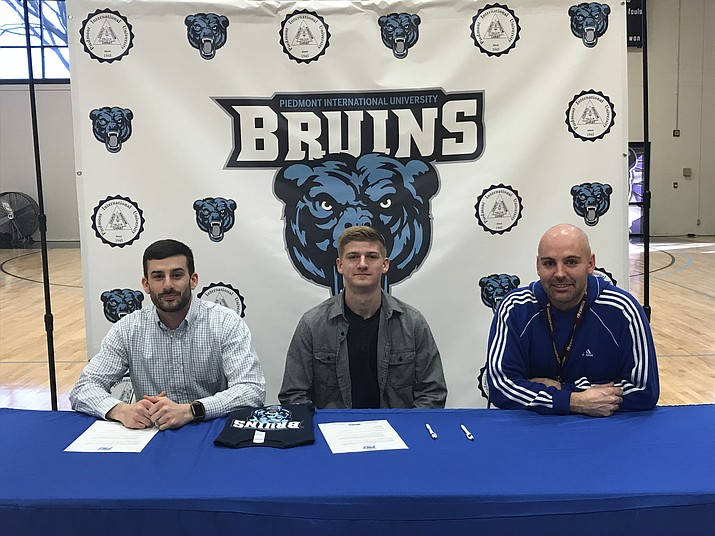 Camp Verde senior Nate Schultz signed with Piedmont International University soccer. (Photo courtesy Kymm Schultz)
