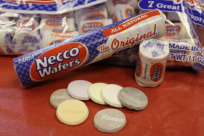 The maker of the colorful Necco Wafers has experienced a surge in sales since announcing it might close. (AP file photo)