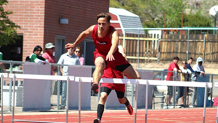 Lee Williams' Enzo Marino not only notched his fifth straight first-place finish in the 110-meter hurdles Saturday, but he also set a new personal record at 15.49.