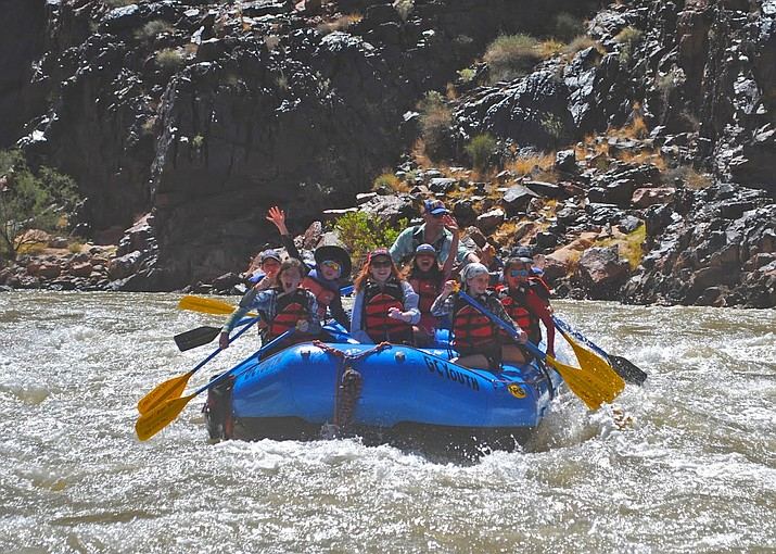 Grand Canyon students rafted the Colorado River between Diamond Creek and Pierce Ferry. (Submitted photo)