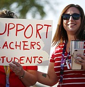 Educators to decide this week whether to strike photo