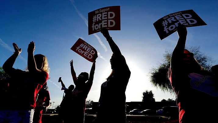 Jobs may be at risk if Arizona teachers walk out