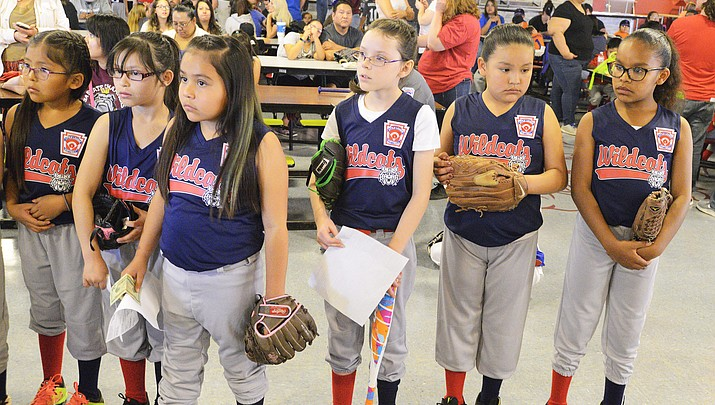 Winslow Little League ushers in first day of the season April 7