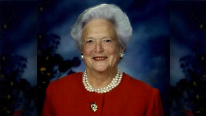 Former First lady Barbara Bush (Whitehouse Photo)