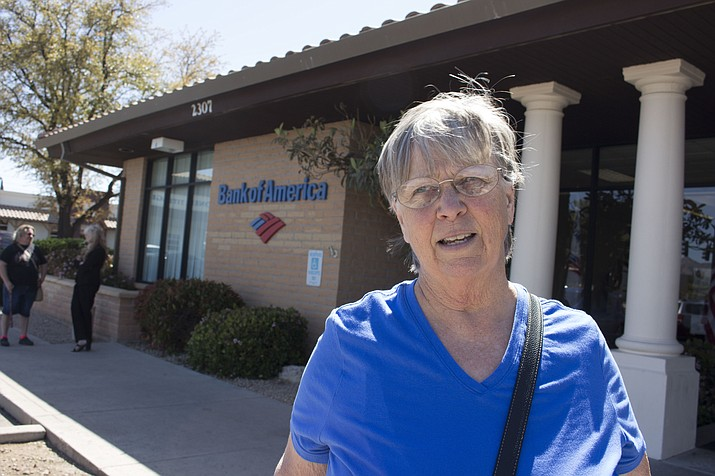 Bank of America customer Dianne Anbardan will be moving her safe deposit box and accounts to another branch, somewhere, after the one at 2307 Stockton Hill Road closes at the end of July.