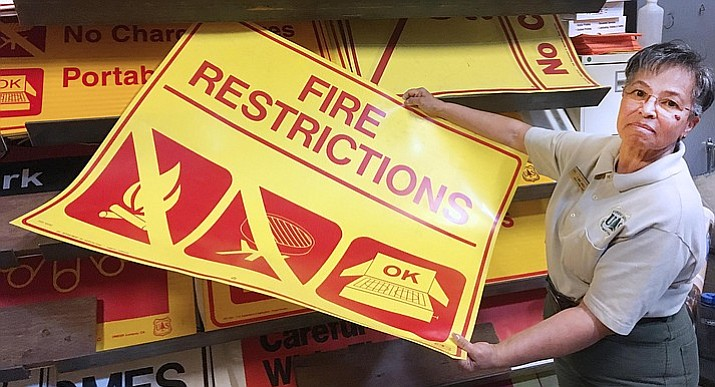 Fire restrictions begin for Cottonwood, Prescott National Forest and Yavapai County