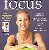 Healthcare Focus - Spring 2018 photo