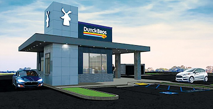 Residents of Cottonwood may have more options for their early-morning coffee fix in the near future with the addition of a Dutch Bros. Coffee in the Food City Shopping Center along State Route 89A. Courtesy photo