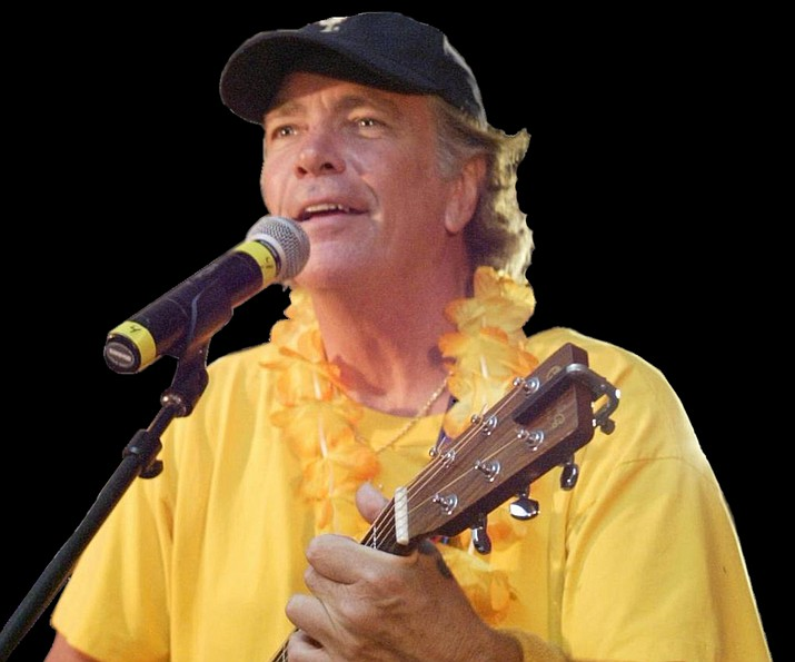 Barry Cunningham during one of his Jimmy Buffet performances. (Courtesy)