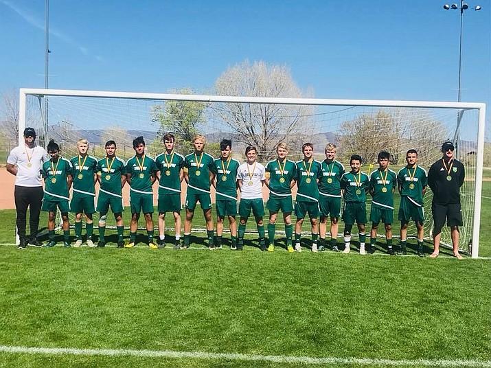 Yavapai Soccer Club's 2002 Boys Team. (Yavapai Soccer Club/Courtesy)