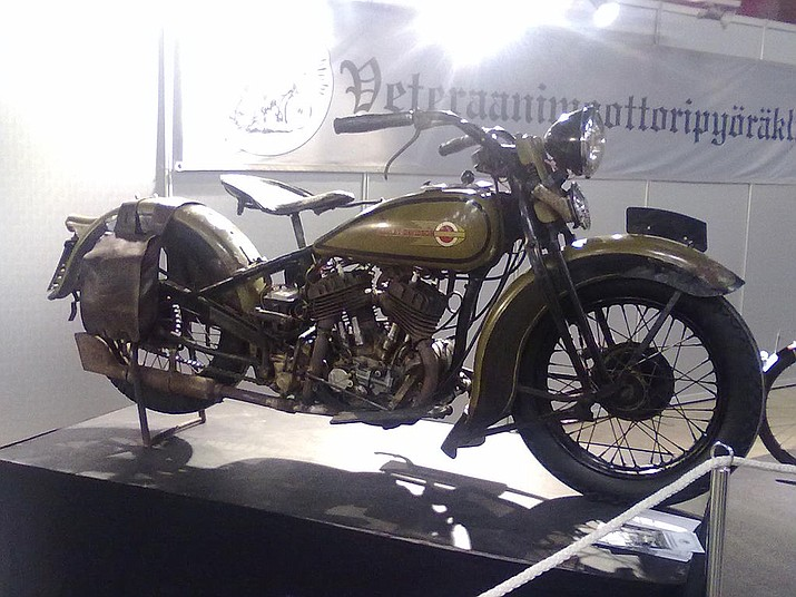 A 1936 Harley-Davidson RL 45. (Photo by Arto Alanenpää, CC 2.0,  https://bit.ly/2vtwBHz)